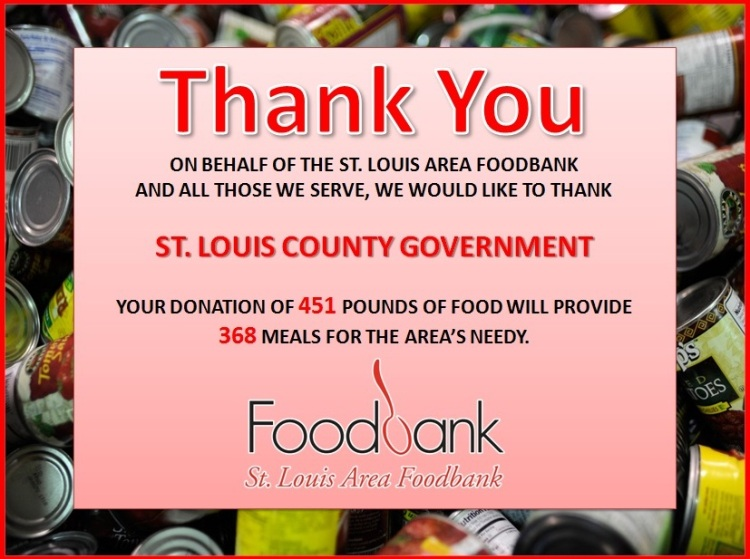 Foodbank Thank You
